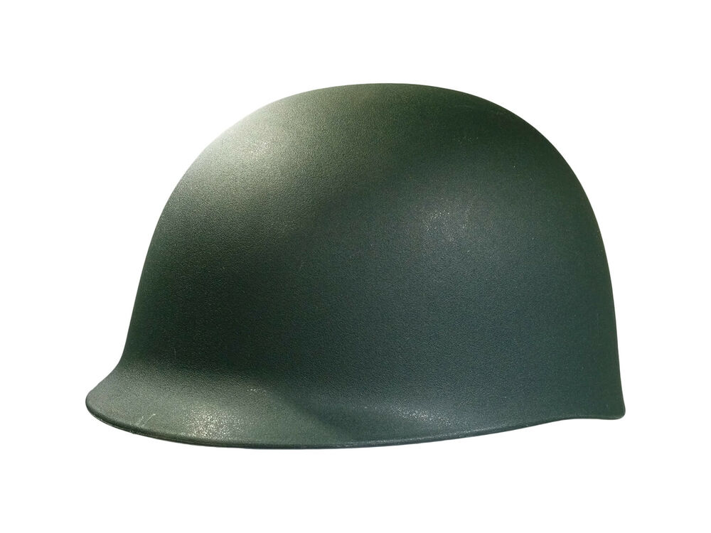 a9b67e96f2c Adult Army M1 Helmet Costume Replica Hat Soldier Military War Reenactment  693614133877