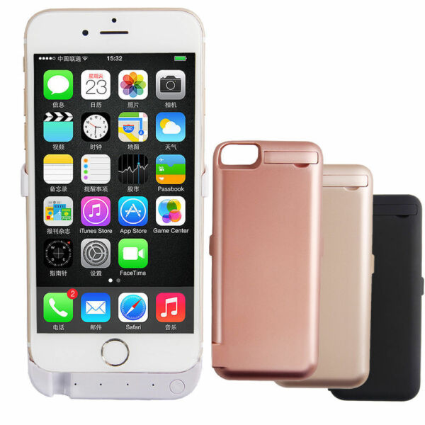 10000mAh Charger Case Backup Battery Cover Power Bank For iPhone 6/6S, iPhone 7