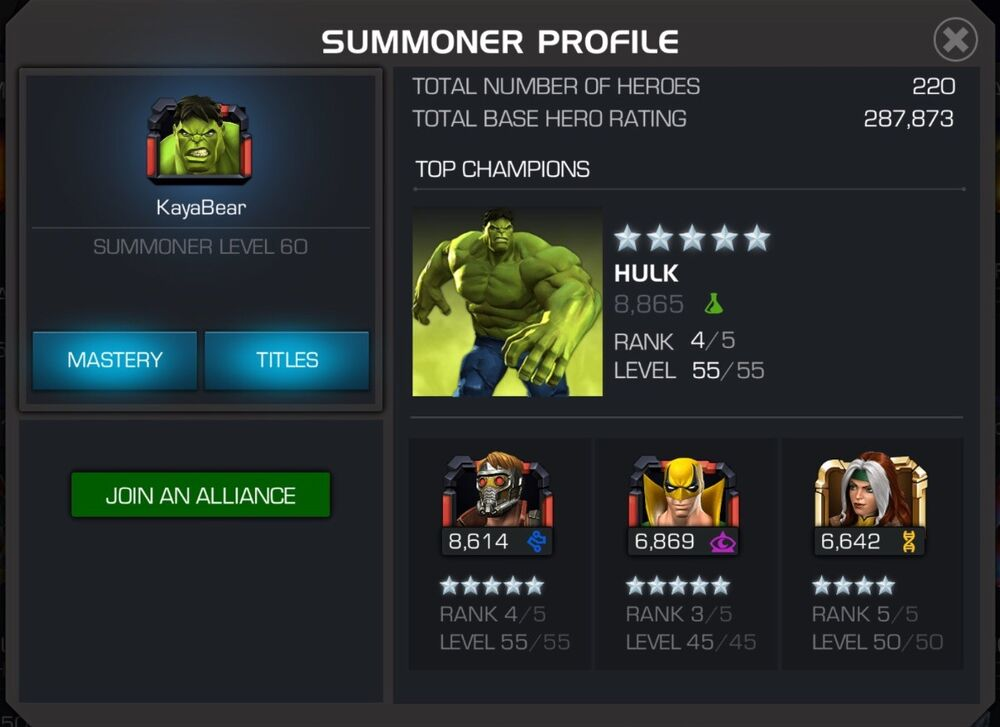 mcoc account giveaway