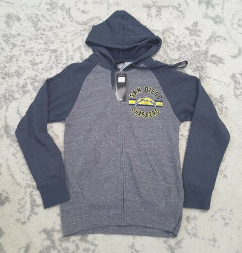 6f4d2286 San Diego Chargers NFL Team Apparel Womens Sweatshirt Zip Up Hoodie ...