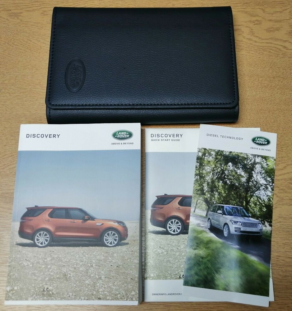 LAND ROVER DISCOVERY 4 HANDBOOK OWNERS MANUAL NAVI WALLET 2009–2011 PACK  F-92 | eBay