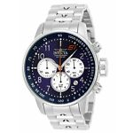 Invicta 23080 Men's S1 Rally Chronograph 48mm Blue Dial Watch