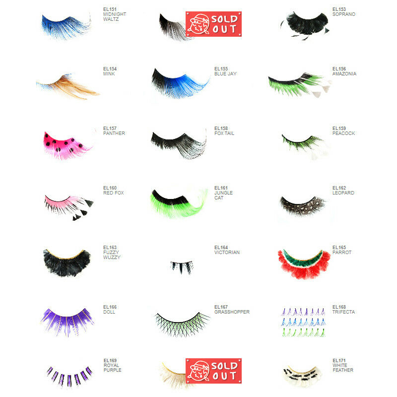 1 Nyx Special Effects False Eyelashes Pick Your 1 Type Joys