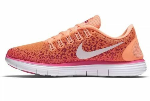 14a108fd72bad Details about Nike Women s Free RN Distance Running Shoes Sz 12 827116-800 Atomic  Orange