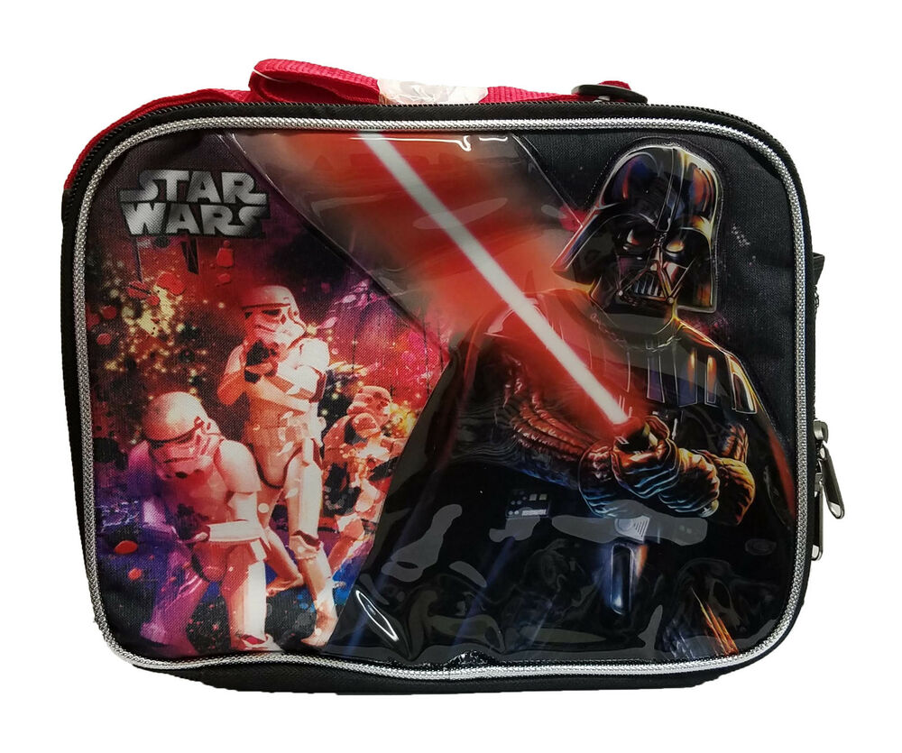 Star Wars School Lunch Box Lunch Bag Zip Kids' Clothes, Shoes & Accs.