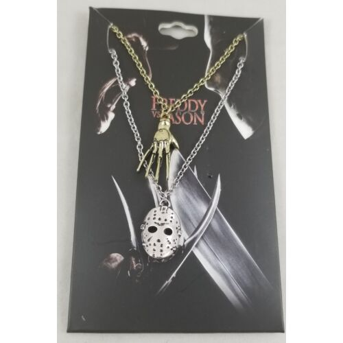 new-freddy-vs-jason-best-friend-bff-pendant-necklace-set-2-pack-mask-glove