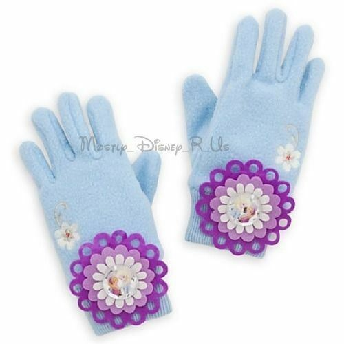 new-disney-store-frozen-elsa-anna-knit-gloves-sparkly-costume-size-xss-ml