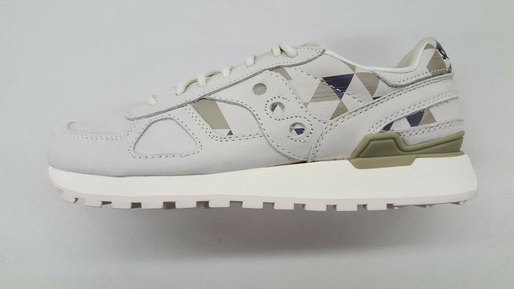 7335cc38e126 Details about SAUCONY SHADOW ORIGINAL SCHOOL SPIRIT BEIGE GREEN MENS  RUNNING SNEAKERS S70305-1