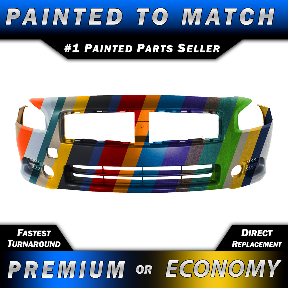 2009 Nissan Maxima Exterior: NEW Painted To Match Front Bumper Fascia Cover For 2009