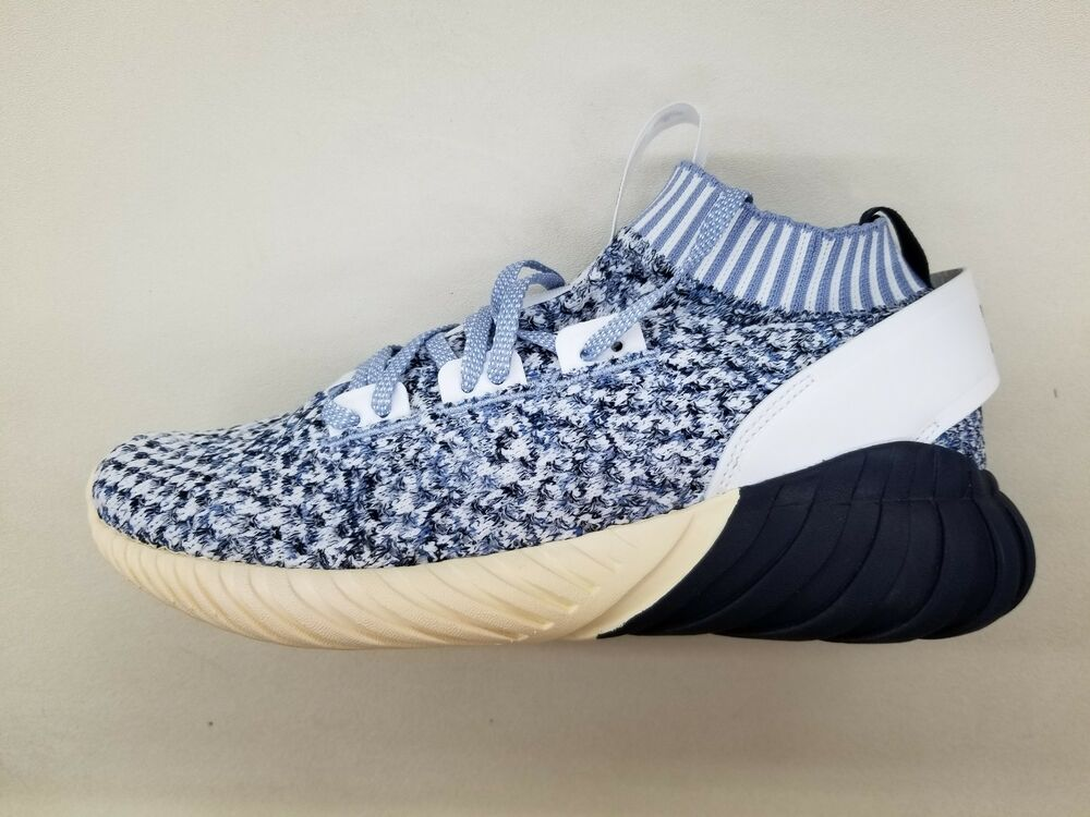 97be6aa04eea Details about ADIDAS TUBULAR DOOM SOCK PK INK BLUE OFF WHITE MENS PRIMEKNIT  SNEAKERS CQ0946