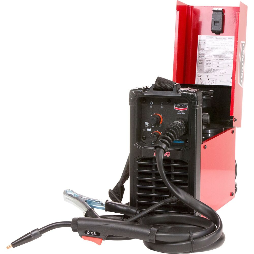 Wire Feed Welders | Lincoln Electric Century Fc 90 Flux Cored Wire Feed Welder 120v 90a