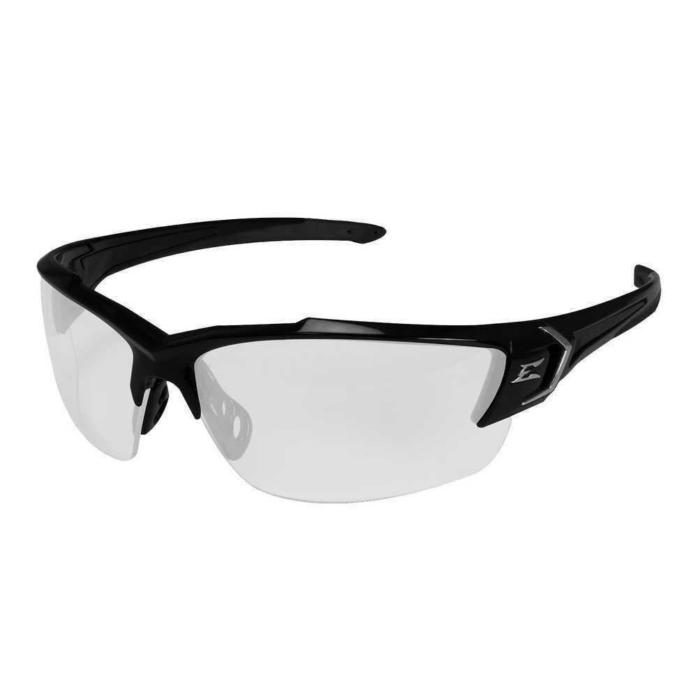 6fda9a4df93 Details about Edge Eyewear SDK111-G2 Khor G2 Black Frame Safety Glasses  with Clear Lens New