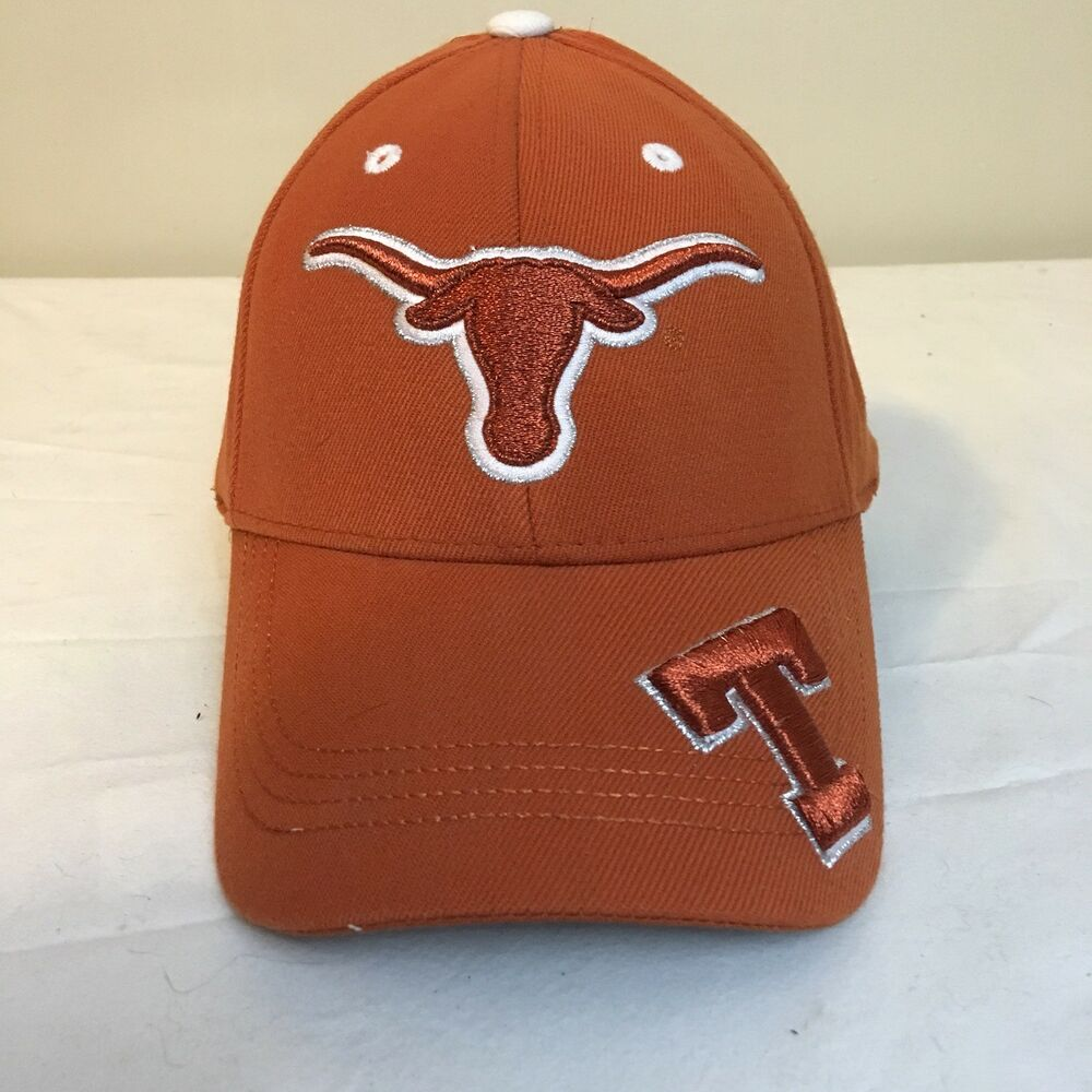 new style 90f3d 84209 Details about Top Of The World Texas Longhorns Hat Cap One Size Burnt Orange  Free Shipping!