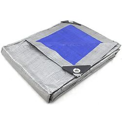 Kyпить REVERSIBLE MULTI PURPOSE WEATHER RESISTANT POLY TARP Heavy Duty Reinforced Blue на еВаy.соm