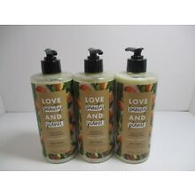 3 LOVE BEAUTY AND PLANET MAJESTIC MOISTURE BODY WASH 16 OZ EA JL 7376