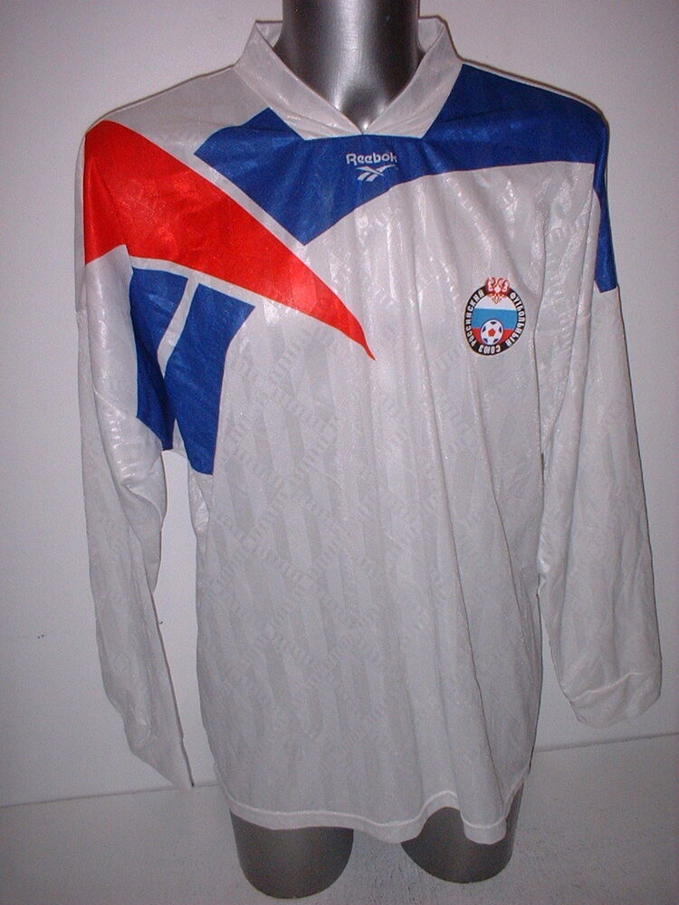 Details about Russia Reebok 1993 Adult XXL USSR Shirt Jersey Football  Soccer Vintage L S Rare 9556c4007