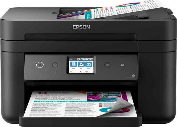 Stampante Multifunzione Wifi Epson WF2860DWF WorkForce Inkjet Stampa Scanner Fax