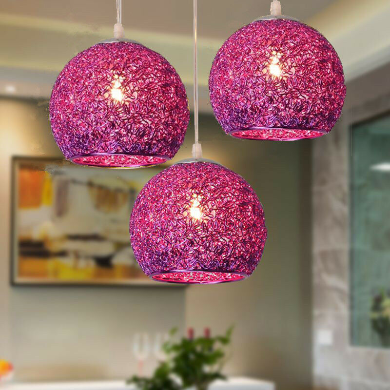 Details About Kitchen Pendant Light Bar Lamp Modern Ceiling Home Purple Lighting