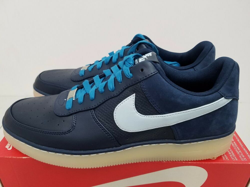 69a1a713ddaf83 Details about Nike AF1 Downtown Obsidian Barely Blue White 579962-402 Size  11