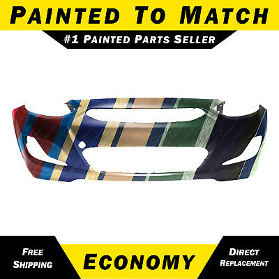 NEW Painted To Match Front Bumper Cover for 2014-2017 Hyundai Accent Sedan/Hatch