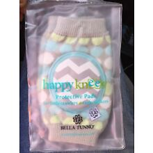 Bella Tunno Unisex 'Happy Knees' Protective Baby Knee Pads One Size NWT