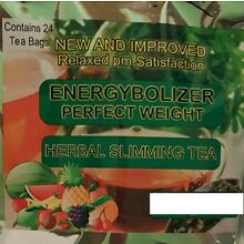 ENERGYBOLIZER  SLIMMING TEA,  APPLE & MANGO, NEW NAME & NEW PACKAGING!