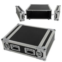 19Inch Space Rack Case Double Door 4U DJ Mixer Cabinet for Audio Equipment Black