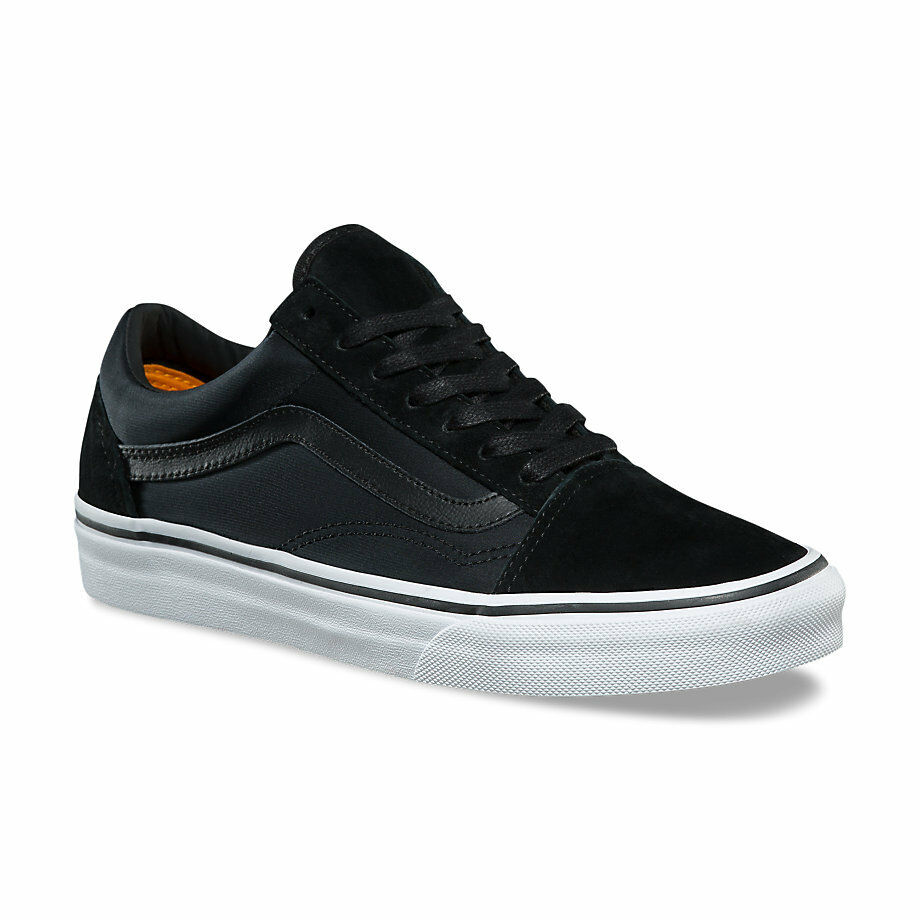 793da2ddfd5 Details about VANS Old Skool (Boom Boom) Black True White Skate Shoes  Womens Size 9