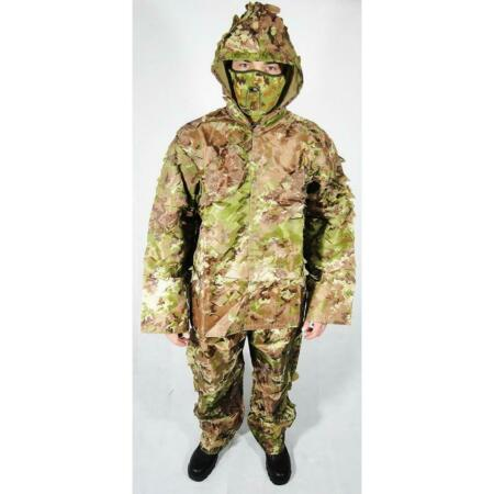img-Uniform Ghillie Camo Jacket And Trousers Size One