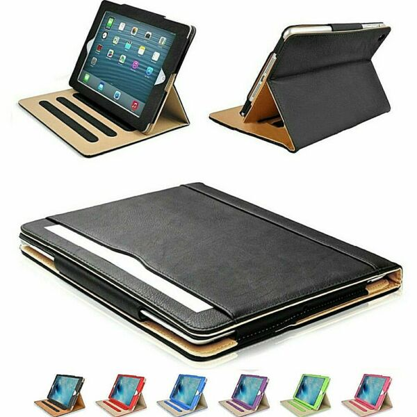iPad 2 3 4 Generation Case Soft Leather Smart Cover Sleep Wake Stand for APPLE