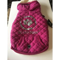 Silver Paw dog coat Rose/Pink Size XL New