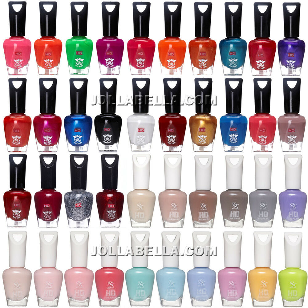 Ruby Kisses HD Nail Polish Colors Pastel Glitter Solid Manicure *56 ...