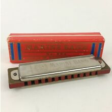 Vintage Marine Band No. 364 Harmonica by M. Hohner Made in Germany Original Box