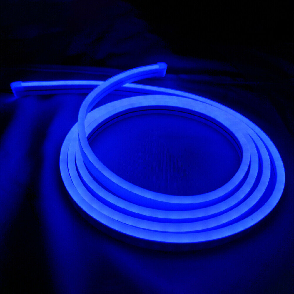 Details About 33 Marine Led Neon Rope Light Flex Soft Party Porch Boat Ship Decor