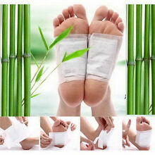 10pcs Premium Ginger Detox Foot Pads Patch Organic Herbal Cleansing Detox Pads