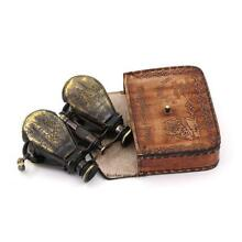 Vintage Monocular Opera Binocular/Nautical Binocular/Telescope with Leather Case