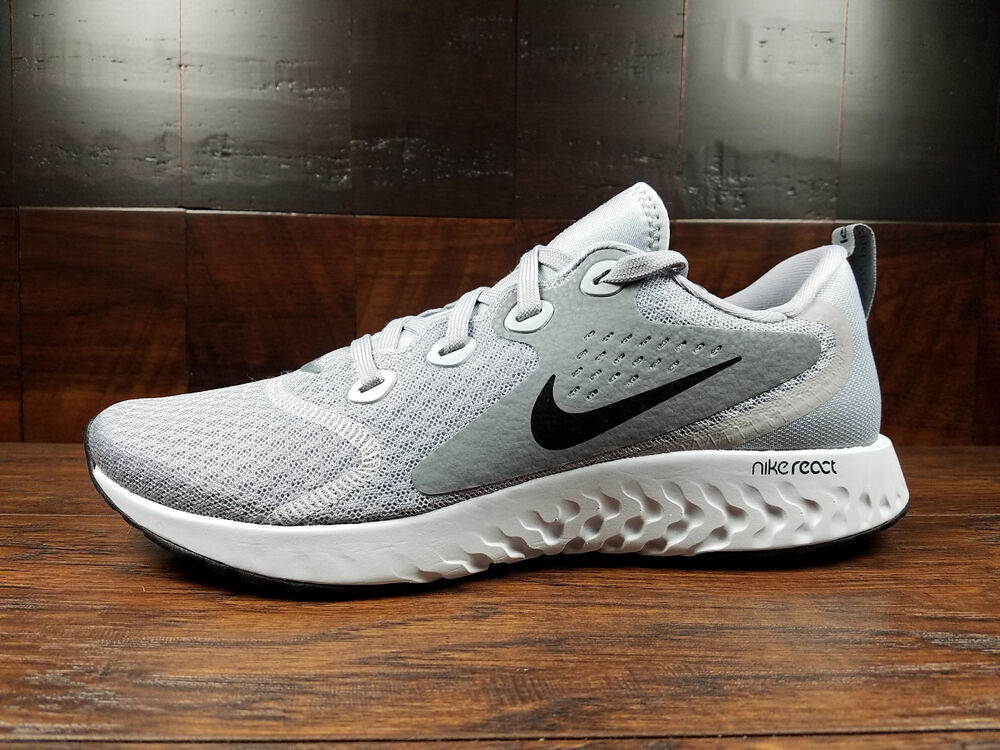 588e0d254b427 Details about Nike Legend REACT (Wolf Grey   Black) Running  AA1625-003   Size 8-13