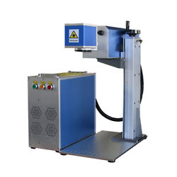 30w co2 laser marking machine 300*300mm marking area for wood acrylic leather