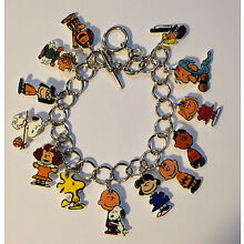 Charlie Brown Snoopy Woodstock & Friends Bracelet Charms Adult Size