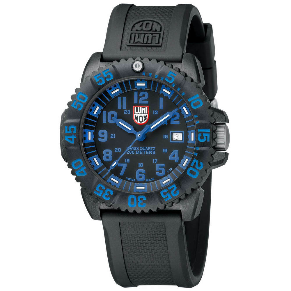 ee4395e3880 Details about Luminox 3053 Men s Blue EVO Navy SEAL Colormark Dive Watch -  AUTHORIZED DEALER