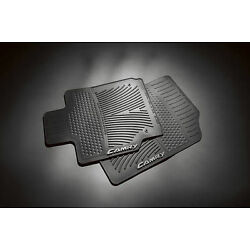 Kyпить 2007-2011 CAMRY FRONT ALL WEATHER RUBBER FLOOR MATS BLACK 2PC SET GENUINE TOYOTA на еВаy.соm