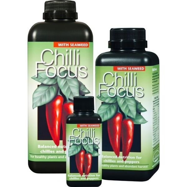 CHILLI FOCUS 100 ML FERTILIZZANTE PEPERONI E PEPERONCINI GROWTH TECHNOLOGY