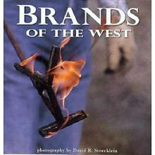 David Stoecklein Brands of the West Hardcover Book Brand New