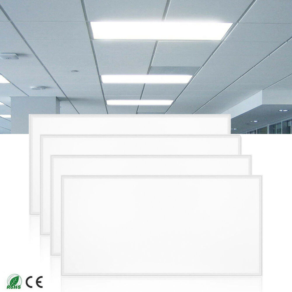 4pack Bright 72w 2x4 Led Panel Light Ceiling Fixture