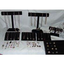 1 LOT OF STERLING SILVER (925) JEWELRY 945 GRAMS (SEE DISCRIPTION)(K)
