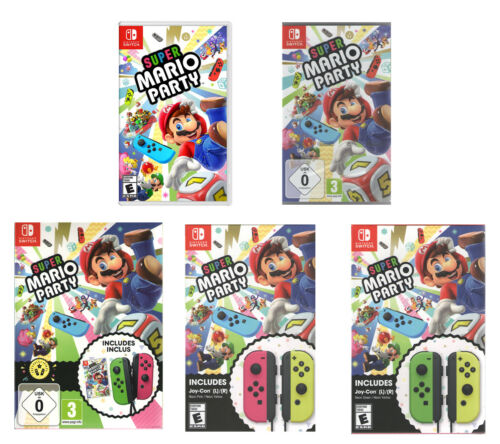 Super Mario Party - Nintendo Switch - Various bundles available
