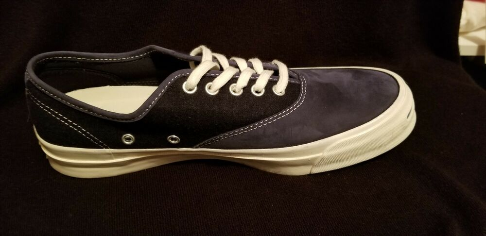 f6ebb14078d2d6 Details about CONVERSE JP JACK PURCELL SIGNATURE CVO OX Mens 153594C Inked  Egret NEW size 9.5