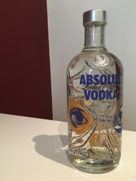 Absolut Vodka Wallpaper 3 Limited Edition - Vision by Ron English - EMPTY