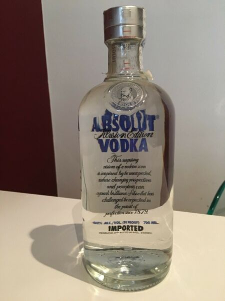 Absolut Vodka Illusion Limited Edition - Security Cap - New & Sealed