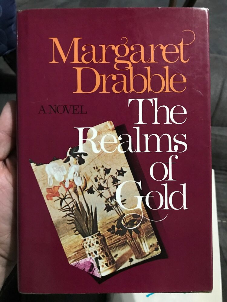 The Realms Of Gold Margaret Drabble Signed 1st Us Edition Hcdj